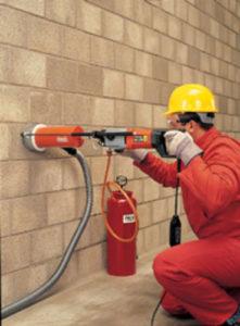 Как убрать бетонную перегородку